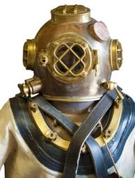 Sponge diver suit