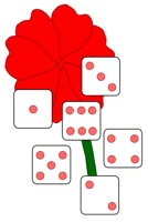 Flower and dice