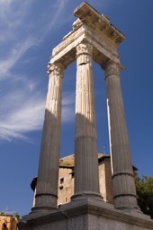 roman forum column structure